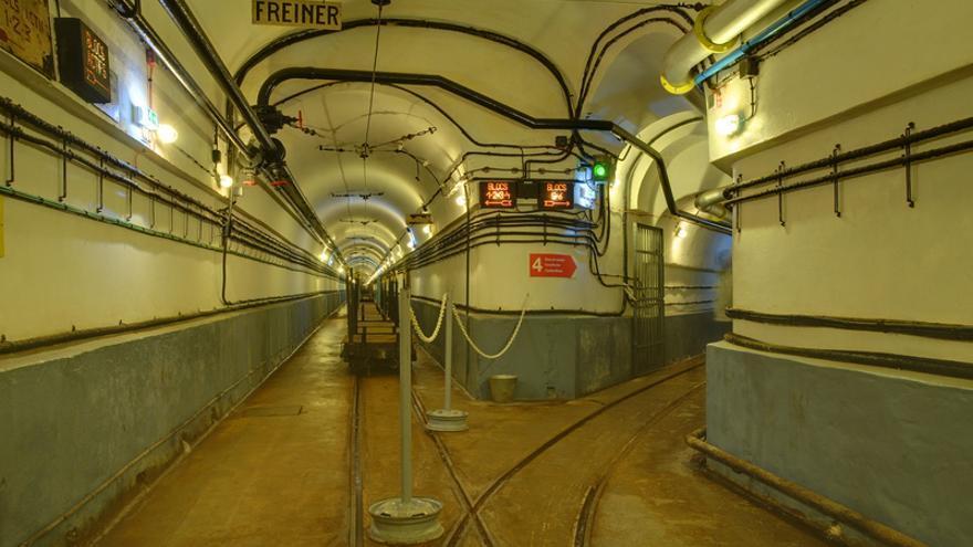 Túneles en el Fuerte de Schoenenbourg. Thomas Bresson (CC)