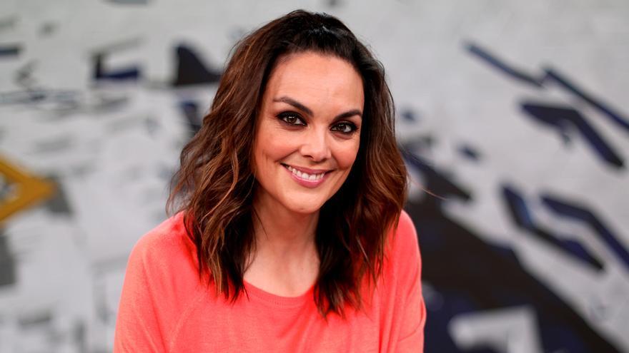 Mónica Carrillo, en el plató de Antena 3 Noticias