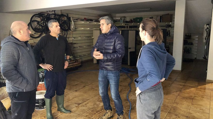 Zuloaga convoca a alcaldes a una reunión para exponerles las ayudas del Estado por inundaciones