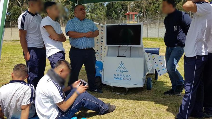 Gafas de realidad virtual y tabletas para mejorar la reinserción en América Latina