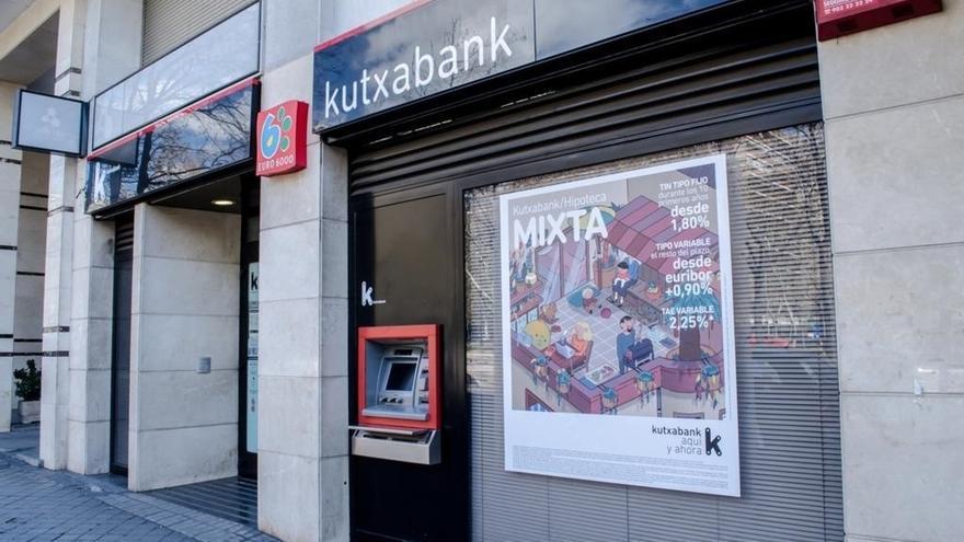 El beneficio neto de Kutxabank creció un 20,1% en el primer trimestre al alcanzar los 90,2 millones