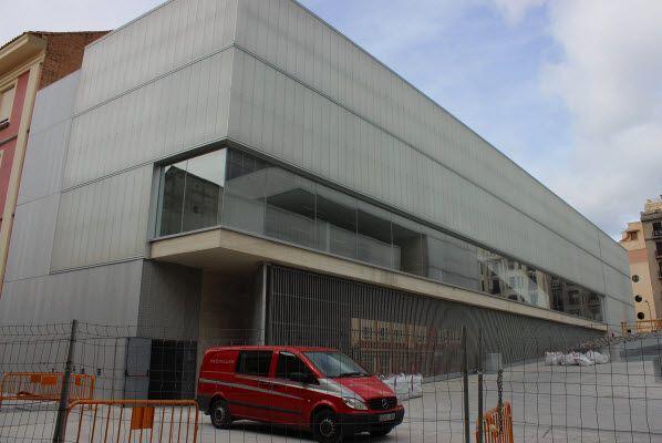 Biblioteca del Centro Polivalente de Barceló   Fotografía: SOMOSCHUECA