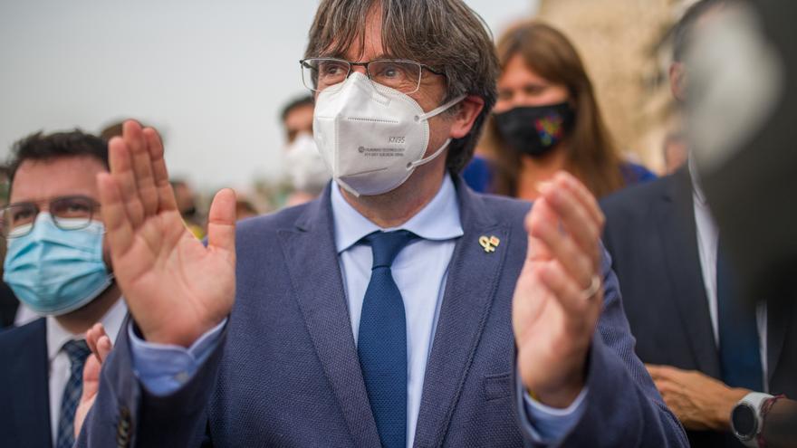 El expresidente de la Generalitat Carles Puigdemont. Foto de archivo.