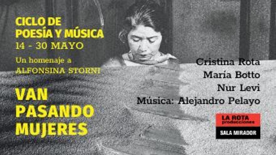 Ciclo de poesía y música alfonsina