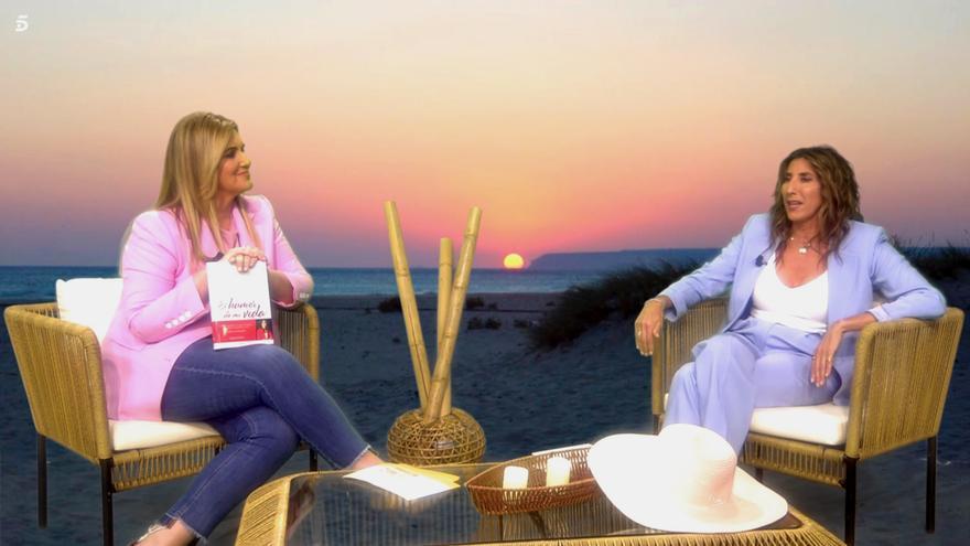 Paz Padilla, entrevistada en 'Sálvame' por Carlota Corredera