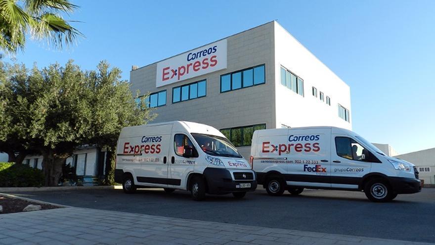 Instalaciones de Correos Express en Alicante. Foto: Correos Express