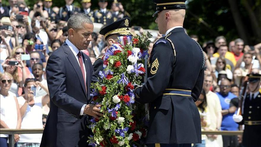 Obama celebra el primer Día de los Caídos sin misión de combate en Afganistán