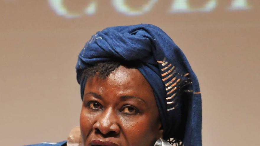 La exministra maliense Aminata Traoré, que participa en el debate