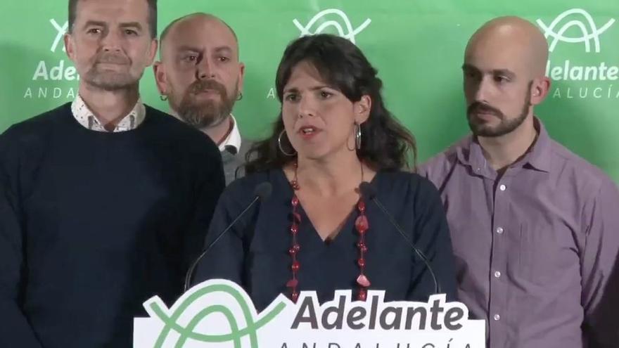 """Teresa Rodríguez: """"Nos toca recuperar el nuevo sentido común que se abrió con el 15M"""""""