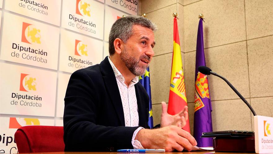 El presidente del IPBS de la Diputación de Córdoba, Francisco Ángel Sánchez.