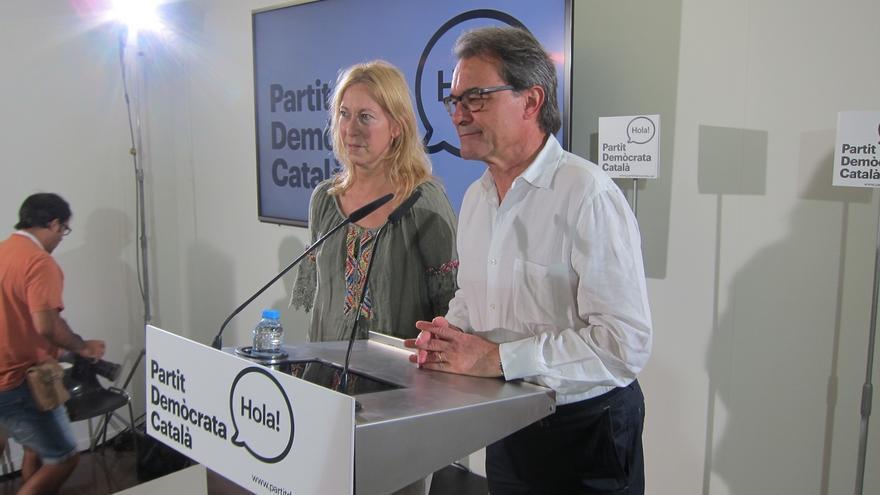 """Artur Mas, tras ser elegido presidente del PDC: """"La renovación va en serio. No es postureo"""""""
