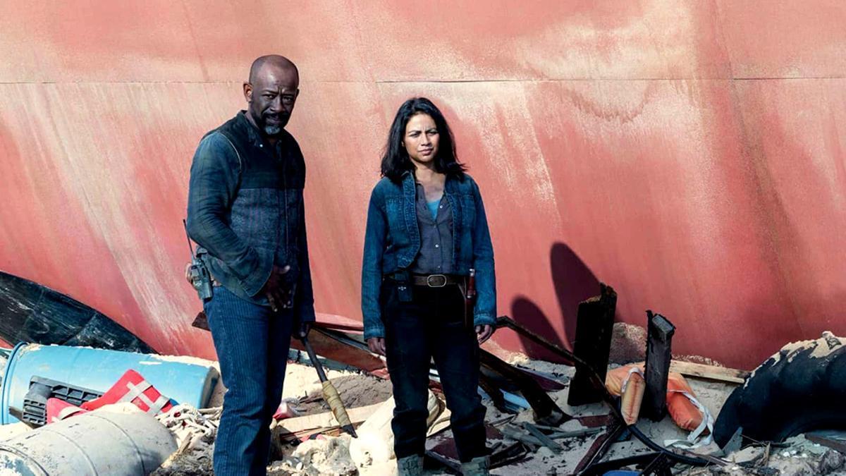 Imagen del final de la sexta temporada de 'Fear The Walking Dead'