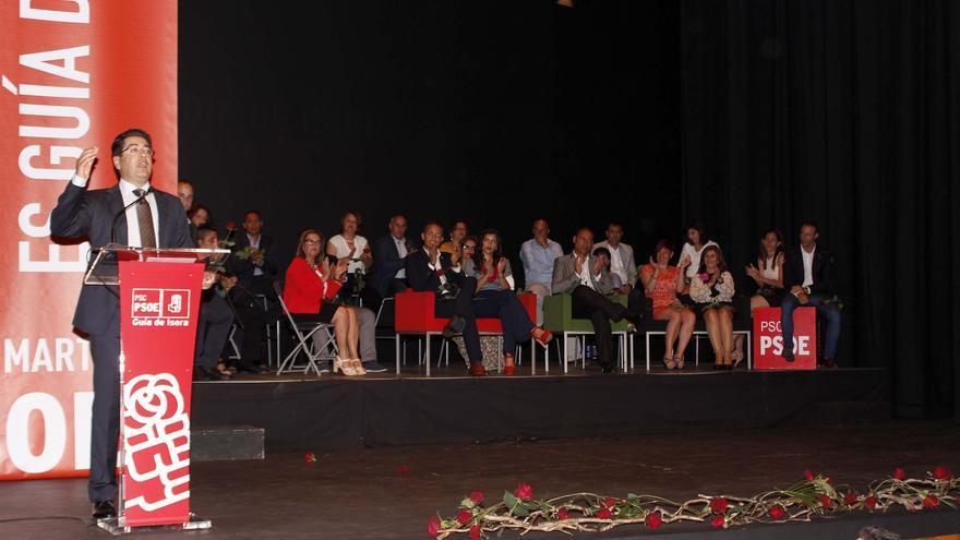 Pedro Mortín contó con más de 400 personas en su presentación oficial por sexta vez a la Alcaldía isorana.
