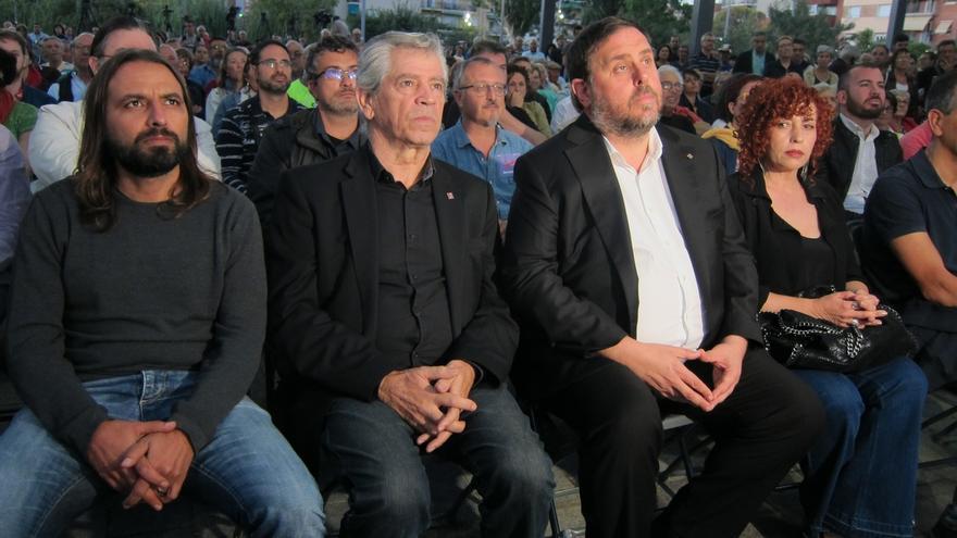 """Junqueras: """"O el PP y sus prohibiciones o libertad y democracia"""""""