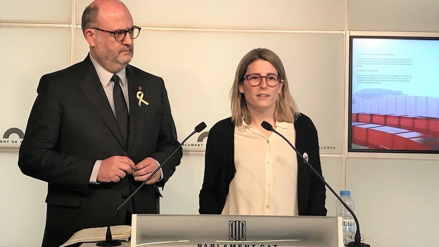 Artadi (JxCat) insiste en investir a Puigdemont y anuncia un acuerdo para esta tarde o mañana