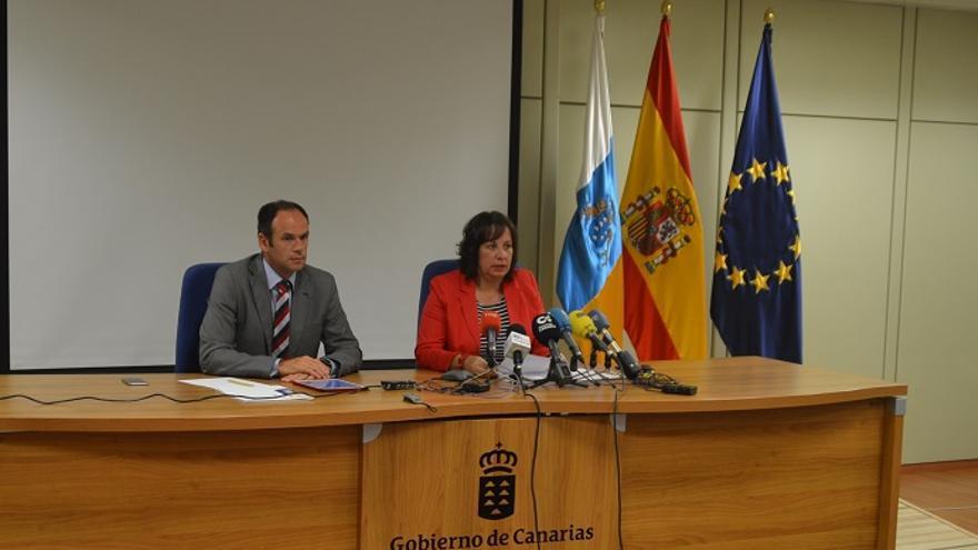 Soledad Monzón, consejera de Educación del Gobierno de Canarias.