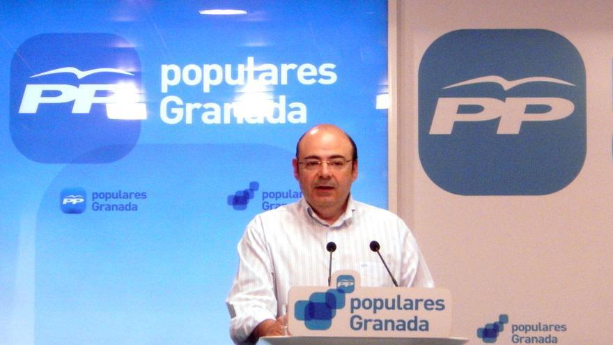 Sebastián Pérez, presidente de la Diputación y del PP de Granada.