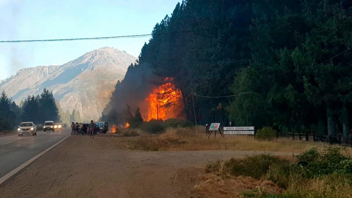 La provincia de Chubut se encuentra afectada con focos activos.
