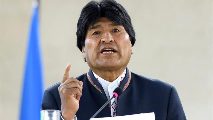 El partido de Evo Morales pide anular las normas que impiden la reelección