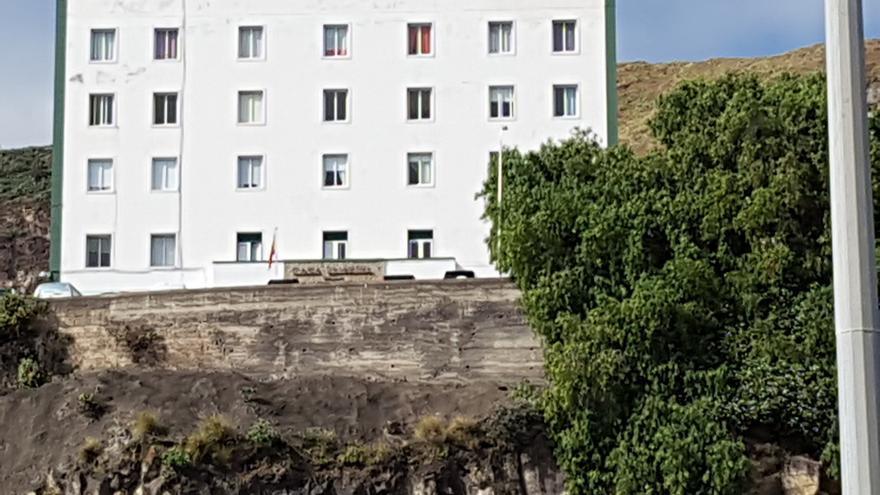 Imagen de archivo de la casa-cuartel de la Guardia Civil en Santa Cruz de La Palma.