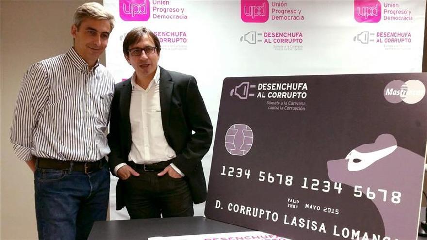 UPyD irá por los pueblos de Madrid explicando el daño que hace la corrupción