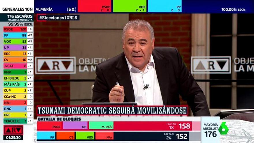 Ferreras en el especial electoral de laSexta por el 10N