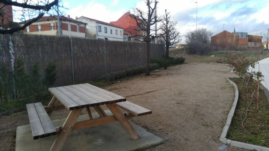 Parque donde Agema consiguió un contrato para instalar juegos infantiles.