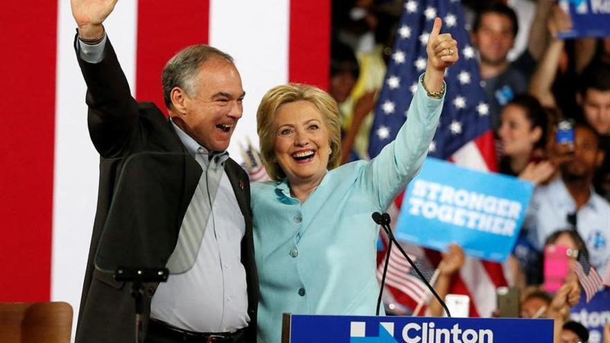 Convención Demócrata confirma a Tim Kaine como candidato a la Vicepresidencia