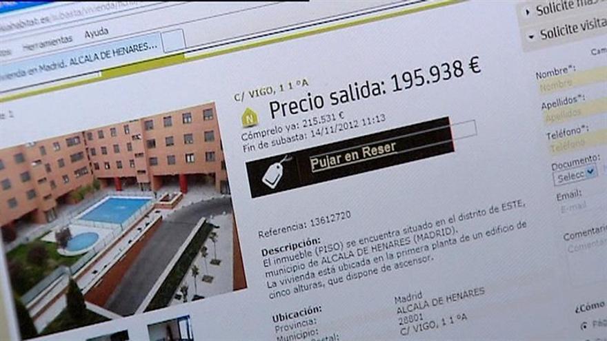 Bankia pone a la venta más de 5.300 viviendas con descuentos de hasta el 40 por ciento