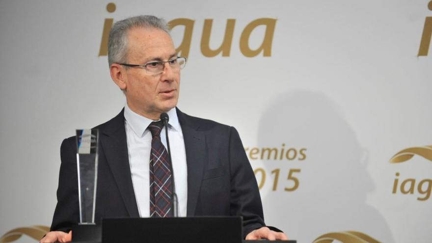 Presidente de la Confederación Hidrográfica del Segura, Miguel Ángel Ródenas
