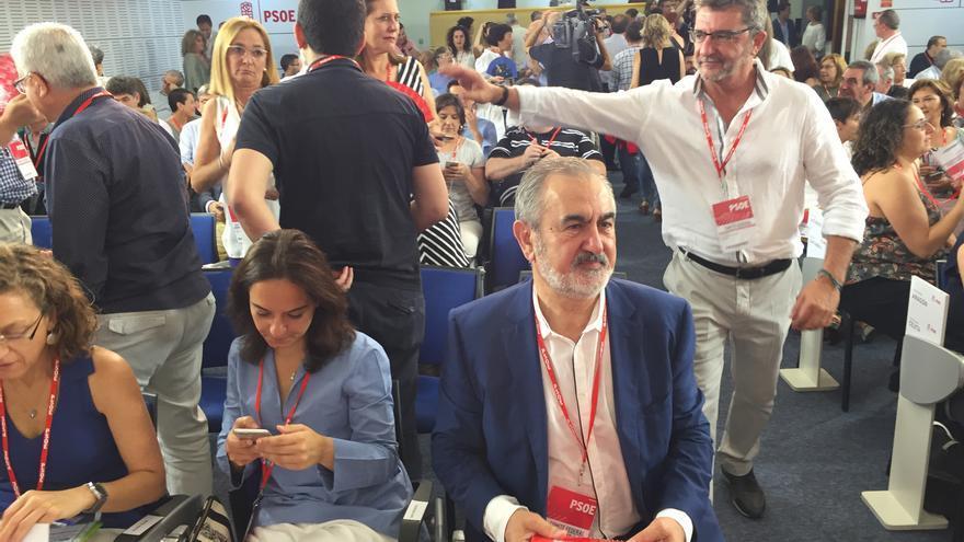 El secretario general del PSOE en la Región de Murcia, Rafael González Tovar, asiste al Comité Federal.