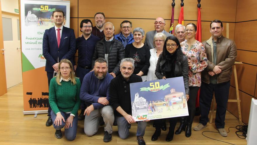 """La Asociación de Vecinos de Puente Tocinos celebra 50 años de lucha: """"Murcia no acaba en la Gran Vía"""""""