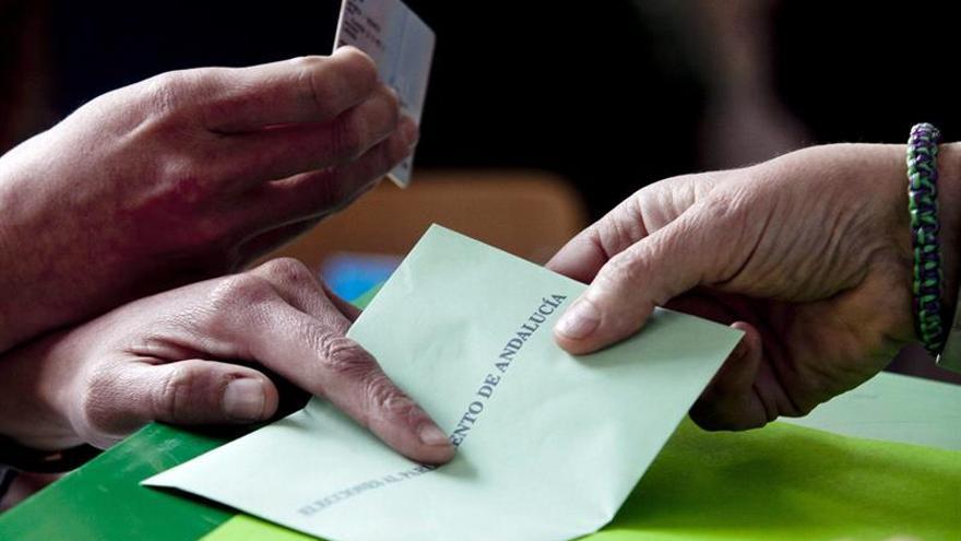 Imagen de las elecciones en Andalucía