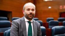 Juan Trinidad, nuevo presidente de la Asamblea de Madrid.