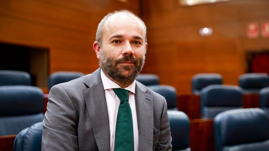 Ciudadanos propone a Juan Trinidad como candidato a Presidir la Mesa de la Asamblea de Madrid