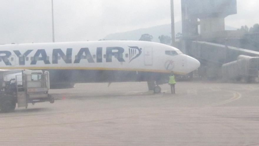 La niebla obliga a desviar cuatro vuelos con destino a Santander