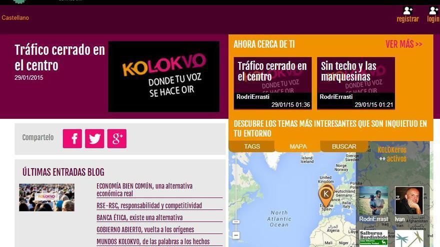 La web Kolovko se encuentra en fase beta, pero ya puede utilizarse.