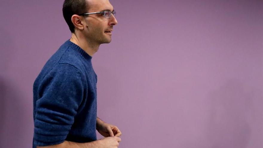 El Consejo Ciudadano de Podemos en Madrid debate sobre la renovación de Luis Alegre
