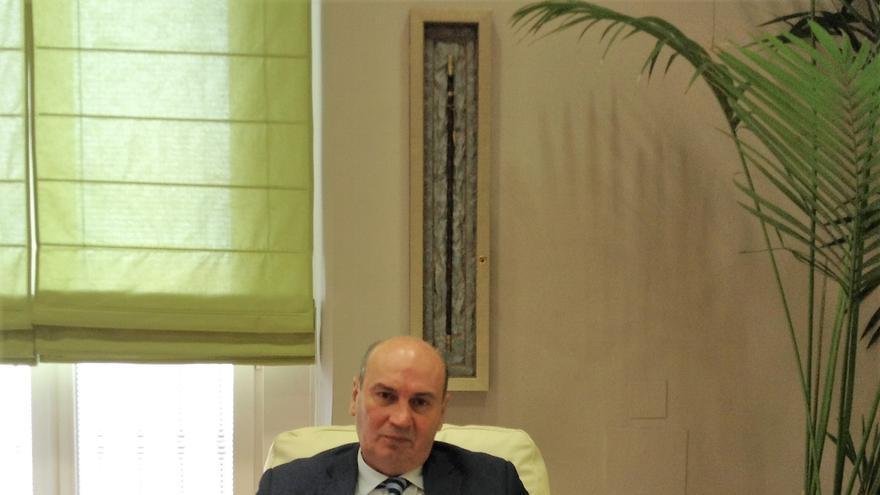 José Manuel Latre, presidente de la Diputación de Guadalajara