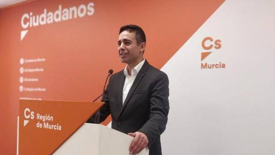 El candidato a las primarias de Cs en la Región de Murcia Leonardo Pérez