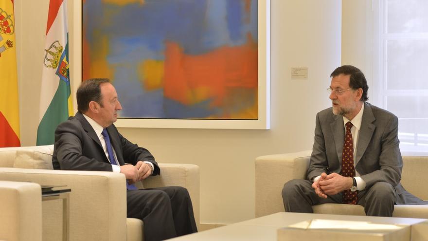 """Pedro Sanz hará a Rajoy """"reivindicaciones"""" en materia de infraestructuras y económicas"""