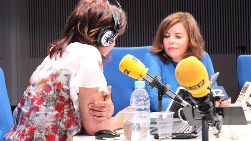 Soraya Sáenz de Santamaría en Hoy por Hoy