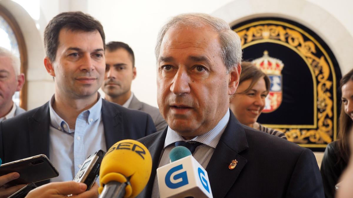 El presidente de la Diputación de Lugo, José Tomé.