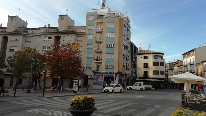 Se peatonalizará desde la calle Sancho Ramírez hasta la plaza de Santo Domingo