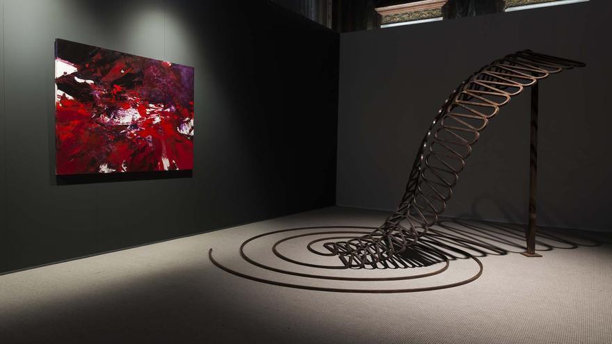 Zona de los Informalistas en la exposición 'La poética de la libertad'