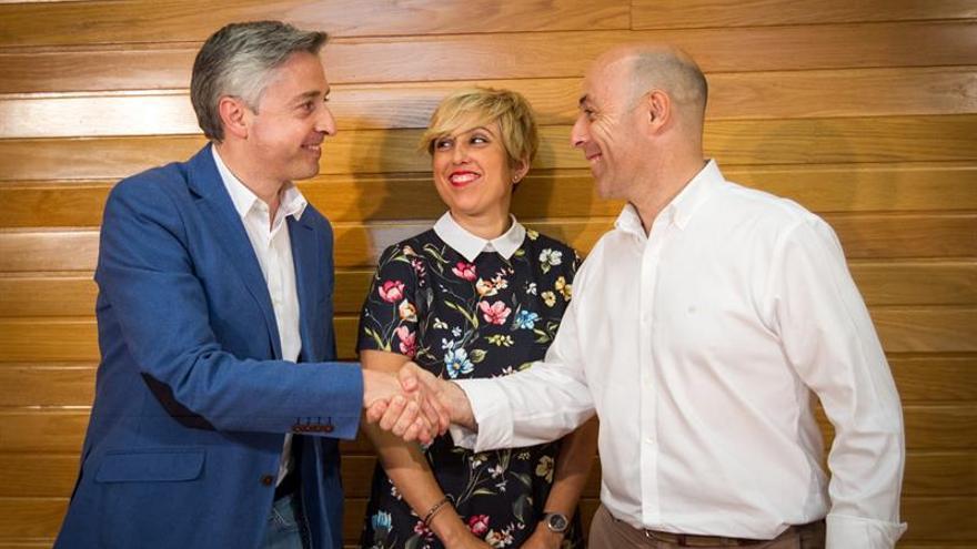 Francisco Ocón releva a César Luena en la dirección del PSOE de La Rioja