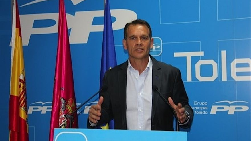 José López Gamarra, concejal del PP en el Ayuntamiento de Toledo