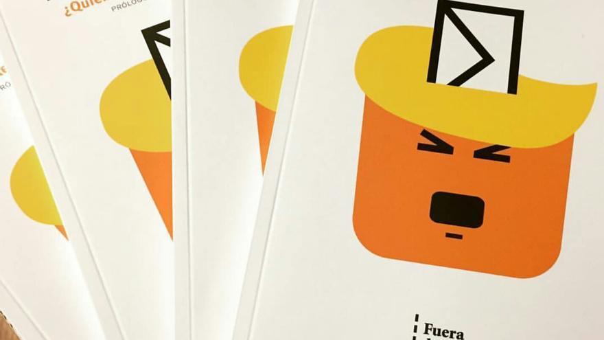 Portada de 'Trumpistas', libro escrito por Fernando Peinado