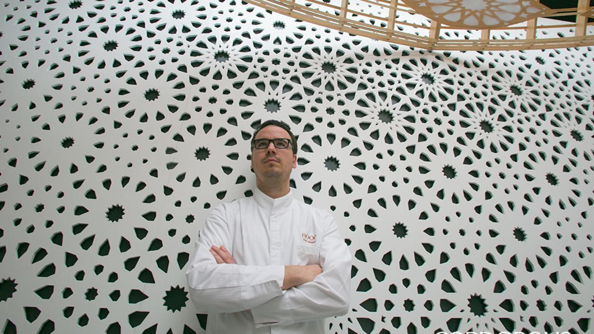 Paco Morales en su restaurante Noor