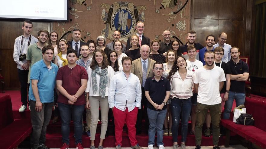 Jóvenes con discapacidad viven la experiencia universitaria en Navarra gracias a los 'Campus inclusivos'
